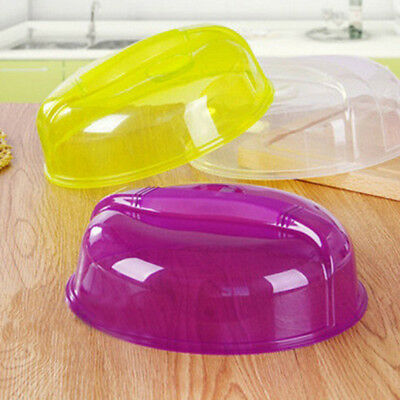 Microwave Plate Cover Lid Dish Food Cover Splatter Guard Steam-Vent For Kitchen