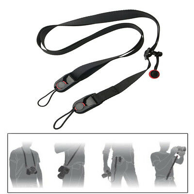 Camera Strap Quick-Release Shoulder Neck Belt Straps For Nikon Canon SLR/DSLR