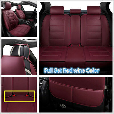 5Seat Cover Protector For Car Front Rear Full Car 4Seasons Gift Universal Fit