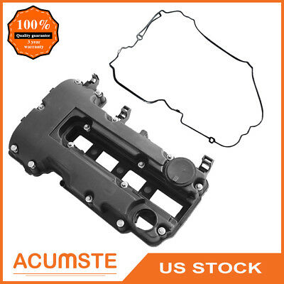 Camshaft Rocker Engine Valve Cover w/ Gasket For Chevy Cruze Sonic Buick 1.4L US