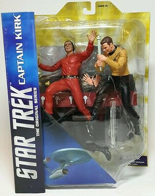"*new* Diamond Select Captain Kirk 7"" Collectible Figure - Star Trek Tos Vs Khan"