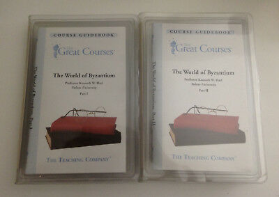 The World of Byzantium, Part I & II, 4 DVD set, The Great Courses