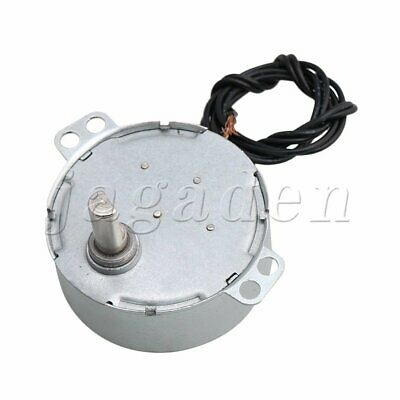 CCW/CW Direction Electric Synchronous Motor Flat Shank Turntable Synchron Motor