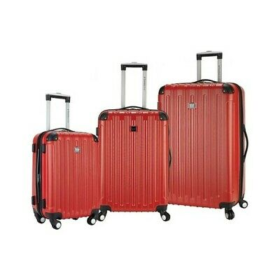 Travelers Club Unisex  Madison 3-Piece Hardside Spinner Luggage Set