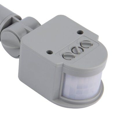 Outdoor AC 220V Automatic Infrared PIR Motion Sensor Switch for LED Light HY&#