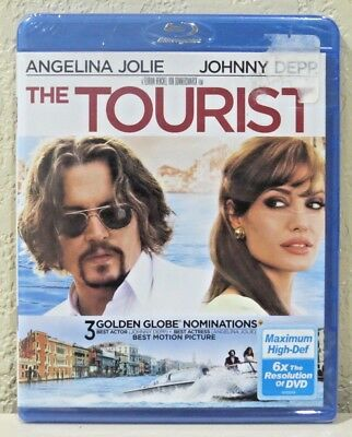 The Tourist (Blu-ray Disc, 2011) BRAND NEW>FREE SHIPPING!