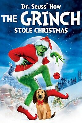 Dr. Seuss' How the Grinch Stole Christmas (2000) Deluxe Edition Blu-ray & DVD