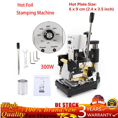 Manual Digital Hot Foil Stamping Machine Bronzing PVC Card Gold Foil Paper 300W