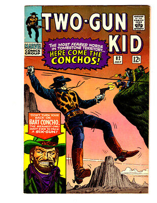 TWO GUN KID #82 in FN/VF condition a 1966 MARVEL Western comic