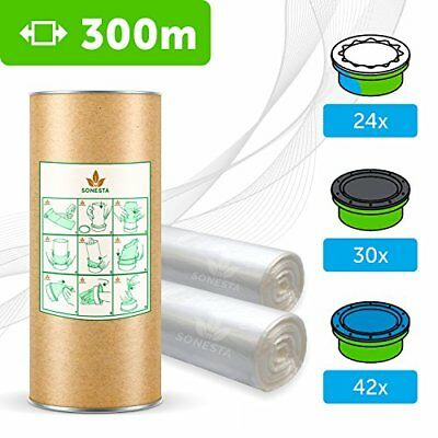 300M ECO RICARICA COMPATIBILE PER MANGIAPANNOLINI SANGENIC TOMMEE TIPPEE  (kbY)