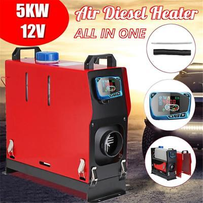 New Car Air Diesel Fuel Heater 5000W 12V LCD Heater For Trucks Boats Bus Heater