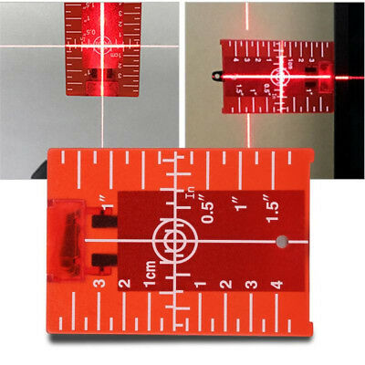 Magnetic Target Plate Rotary Cross Line Laser Level Distance Meter with Leg