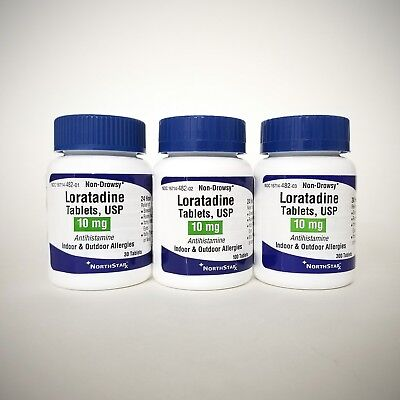 Loratadine 10mg (compare to Claritin) by Northstar - 30ct, 100ct, or 300ct