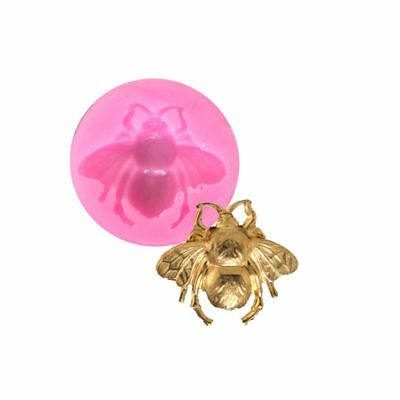 Bee Shaped Nail Art Pendant Silicone Mold Molds Resin Jewelry Making Craft Tools