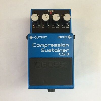 Boss CS-3 Compression Sustainer Guitar Pedal in excellent condition