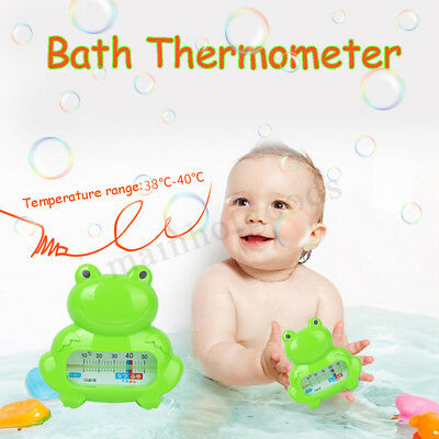 2PCS Floating Bath Frog Thermometer Safety Baby Tub Measure Water Temperature