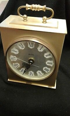 Bentima Carriage Clock quartz movement made in Germany used