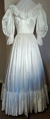 "White Victorian style costume 32"" Bust"