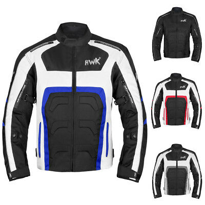 Motorcycle Jacket For Men Motorbike Biker Riding Racing CE Armored All-Weather