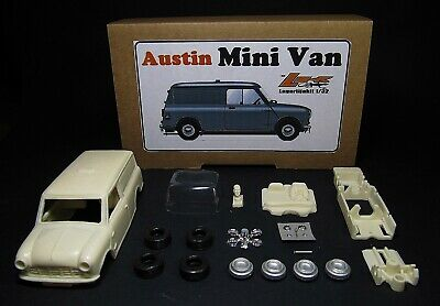 Lagartijakit Austin Mini Van - Resin Body Slot Kit 1:32 - Authi Cooper Traveller