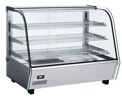 Commercial Heated Display Cabinet Countertop Food/Pie/Chicken Warmer 3 Tier