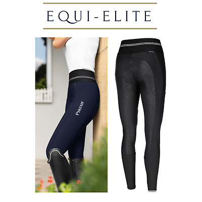 Pikeur Gia Grip Athleisure Winter Softshell Breeches - Pull on Riding Tights