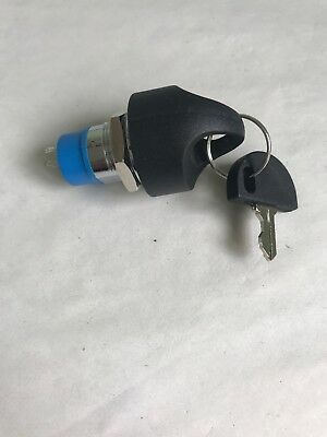 Genuine ON/OFF IGNITION Switch + 2 Keys PRIDE Go Go mobility scooter *NEW*