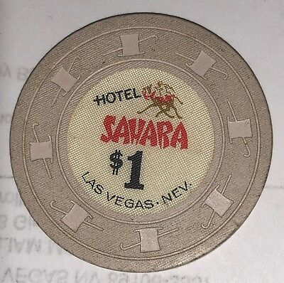 Sahara |Hotel and Casino, Las Vegas NV Obsolete $1 Casino Chip