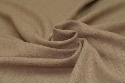 Hopsack Effect Poly Wool Blend Felt Type Suiting Dress Fabric Material