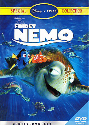 DVD / Disney / PIXAR / FINDET NEMO / Special Collection / 2 DVDs