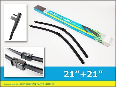 VW Passat B5.5 [2002-2005] 2X FRONT WINDOW WINDSCREEN AERO WIPER BLADE SET PAIR