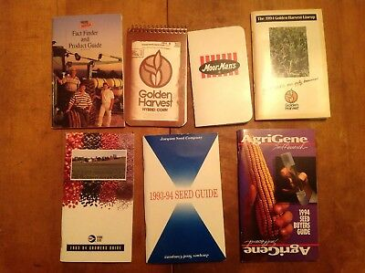 Collection Of Seed Guides And Books