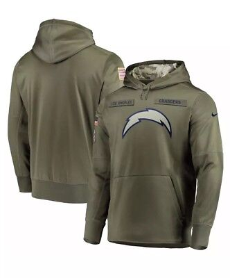 Hot NIKE LOS ANGELES Chargers 2018 Mens NFL Salute to Service Therma STS  supplier