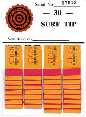 Sure Tip Variety Pack One Board Each #30, #40, #50, #60, #75, #100 & #120