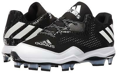 huge selection of 46e37 d0599 Adidas PowerAlley 4 TPU Black Molded Baseball Cleats (Q16583) Men s Size 14
