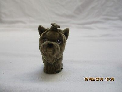 Puppy in my pocket yorkshire terrier dog figure