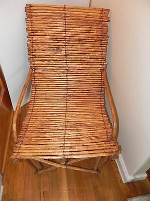 Arts of Africa - Rare  Authentic  Dogan Lazy Man Chair - Mali -