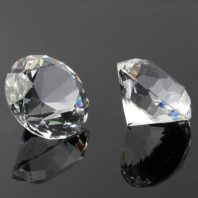 60mm Big K9 Crystal Clear Diamond Glass Art Paperweight Decorations Ornament Cre