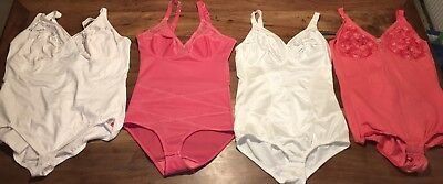 Job Lot Of 10 Vintage Corselettes In Excellent Condtion Size L/xl #4