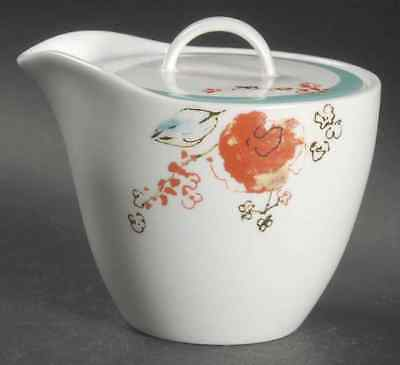 Lenox Simply Fine Chirp Creamer / Sugar  Combination  And Lid! New