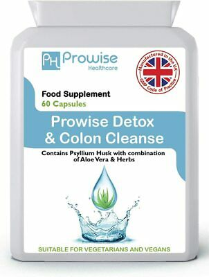 Detox & Cleanse High Strength, 90 Capsules, Digestive Liver Kidney Health