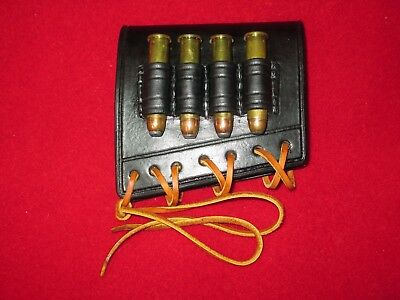 leather rifle stock cartridge loops for winchester marlin lever