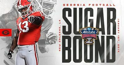 2 Tickets for 2019 Allstate Sugar Bowl Plaza Lower Level 141 Row 13