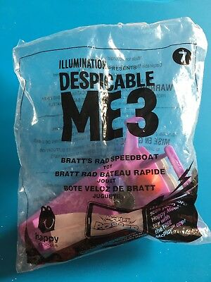 Despicable Me 3 Bratts Rad Speedboat Toy From Mcdonalds