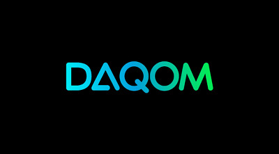 Daqom.com is a 5 letter brandable domain name for sale + Free Logo!