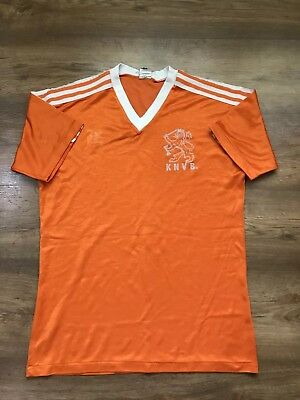 Vintage Netherlands Holland 1985/1988 Home Football Shirt Soccer Jersey Adidas