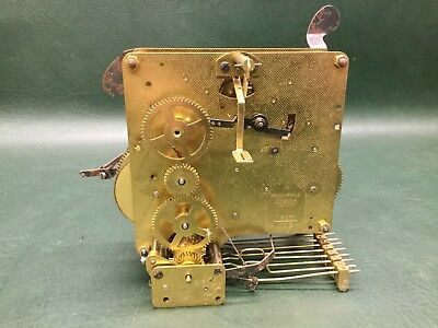 NOS Vintage FRANZ HERMLE Clock Movement 0 Jewels 38cm 1051-020 No. 73 W. Germany