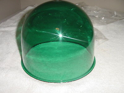Vintage  174, 175, 176  Federal Signal  Beacon Ray domes new  Green