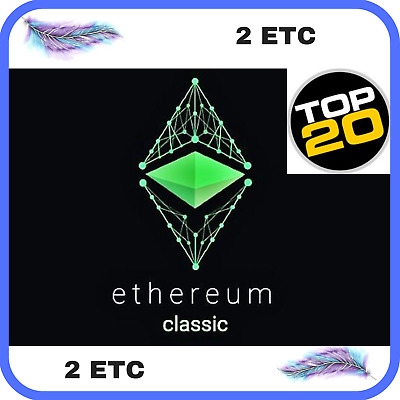 2 Ethereum-Classic (ETC) CRYPTO MINING-CONTRACT ( 2 ETC ), Crypto Currency