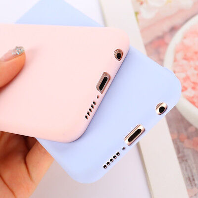 Cover Case Huawei Silicone Lite Soft Candy Color P20 P9 P10 Mate 10 Lite Y6 Y9 Y